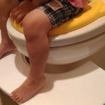 トイレトレーニングの踏み台に牛乳パックはオススメしない